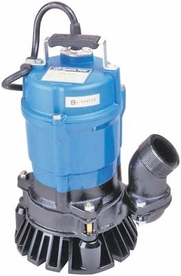 "New Tsurumi - Hs2 4S 61 - 2"" Submersible Trash Pump, 1/2 Hp Motor"