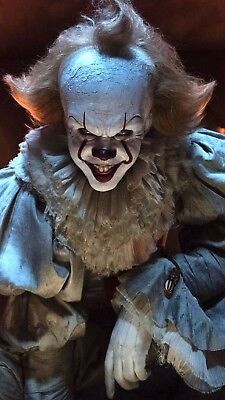 """Pennywise IT Movie Magnet- Flexible Refrigerator Magnet - Size 5"""" x 2 3/4"""""""