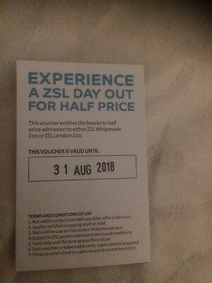 ZSL Zoo Tickets REDUCED!!!