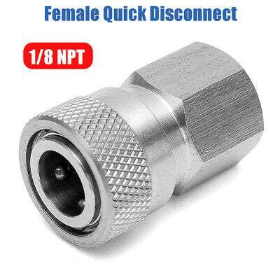 [NEW] Stainless Steel Female Quick Disconnect 1/8 NPT