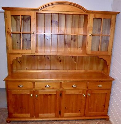 Pine Timber buffet and hutch dresser ideal kitchen or dining