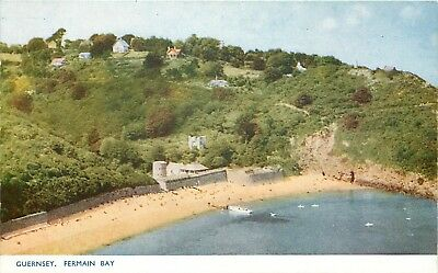s10133 Fermain Bay, Guernsey postcard unposted