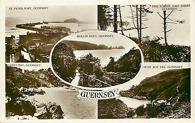 s10139 Multiview, Guernsey RP postcard unposted