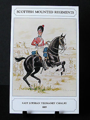 Geoff White –Scottish Mounted Regiments – East Lothian Yeomanry Cavalry 1805