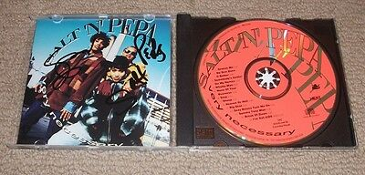 Salt-N-Pepa - Signed Very Necessary Cd *autographed*