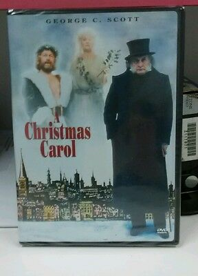 New And Sealed A Christmas Carol DVD George C. Scott Charles Dickens • CAD $7.80 - PicClick CA