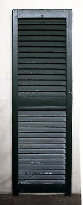 """6 avail 15""""x49"""" Vintage Antique Old SOLID Wood Wooden Window Shutter Louver Door"""