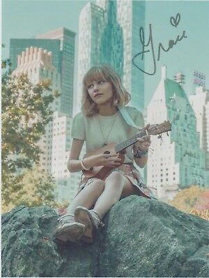 "Grace VanderWaal America's Got Talent (AGT) ""Perfectly Imperfect"" SIGNED RP 8x10"