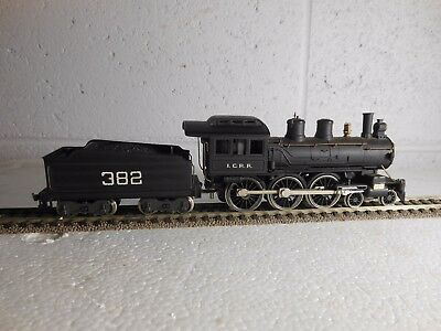 'ho' Scale Locomotive & Tender I.c.r.r. 382