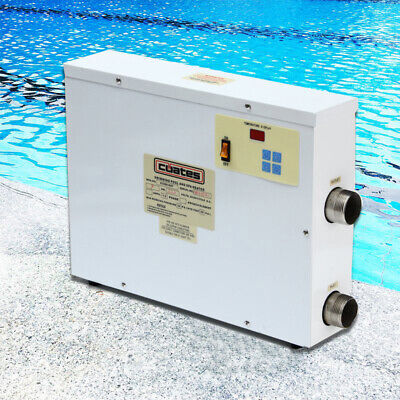 [NEW] 9KW 220V Digital Swimming Pool SPA Hot Tub Thermostat Electric Water Heate