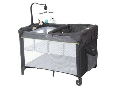 Steelcraft 4-in-1 Portable Baby Cot Denim Portacot