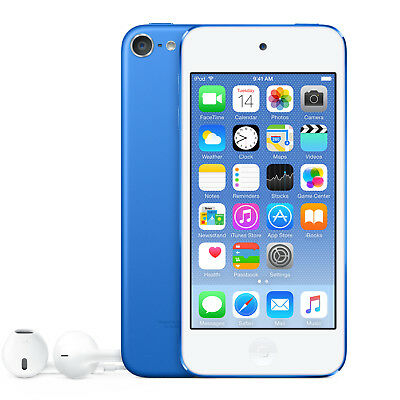 2015 Apple iPod Touch 6th GEN (32GB) Blue - NEW