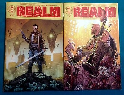 The Realm 1 Covers A & B • Hot New Image Comics Series • Sold Out! Ready To Ship