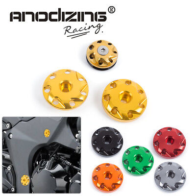 ANODIZING Frame Hole Cap Cover Bolt For KAWASAKI Z1000 Z1000SX Ninja 1000
