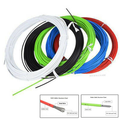2M Bicycle Brake Shift Cable Housing Cable Hose Kit for Shimano Sram Road SD