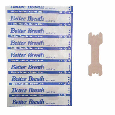 30PCS Better Breath Nasal Strips Large Anti Snoring Sleep Right Aids Stop Snore