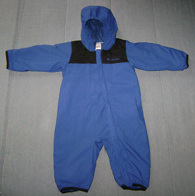Columbia Omni-Tech Three-In-One Snowsuit System Blue/Black size 6 Months