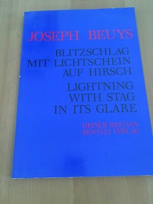 Joseph Beuys: Lightning With Stag In Its Glare 1st Edition 1986