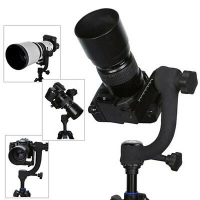 [NEW] 360 Degree Swivel Panoramic Gimbal Tripod Ball Head For Camera Telephoto L