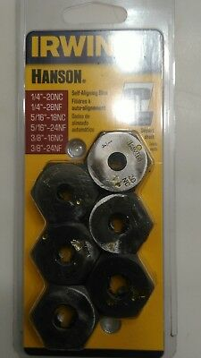 Irwin 6 piece SAE tap and die set