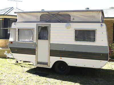 Pop Top Caravan with loads of extras
