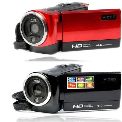 NEW LCD Screen Full HD 8x Zoom Photo Digital Video Camera Support SD Card