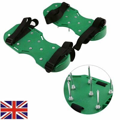Lawn Aerator Aerating Shoes Sandals 30 x 13cm Spikes Per Shoe Garden Lawn Care