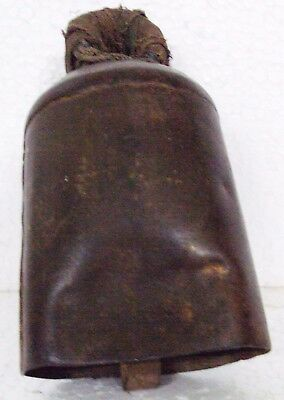 Old Iron Handcrafted Unique Shape OX/Cow  Bell Small