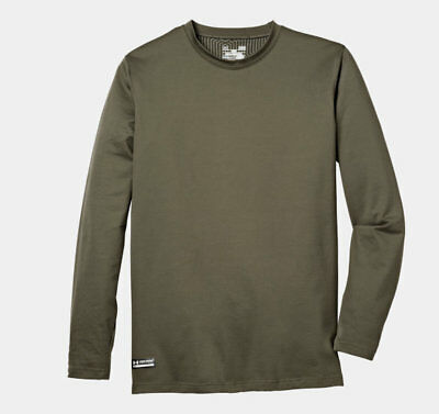 Under Armour 1244394 Men's OD Green ColdGear Infrared Evo Crew Shirt - Size 2X