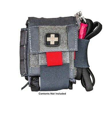 High Speed Gear 12O3D0WG On or Off Duty Medical Pouch Belt-Mount Wolf Gray