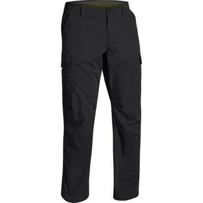 Under Armour 1265491 Men's Black Tactical Patrol Cargo Pants - Size 38 x 32