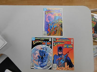 World's Finest Comic lot of 3! #'s 287-289! VF8.0+! Bronze age DC beauties!