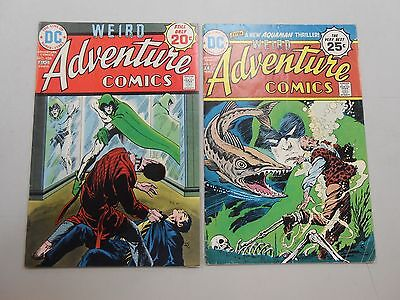 Adventure Comics lot of 2! #'s 434 and 437! FN6.0 and VG4.0+! Bronze age DC!