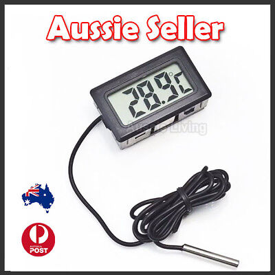 LCD Digital Thermometer for Fridge/Freezer/Aquarium/FISH TANK Temperature OZ