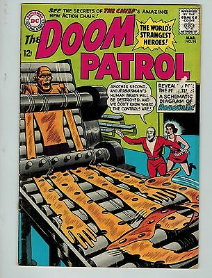 The Doom Patrol #94 (Mar 1965, DC)! VG4.0+! Silver age DC beauty! CHECK IT OUT!