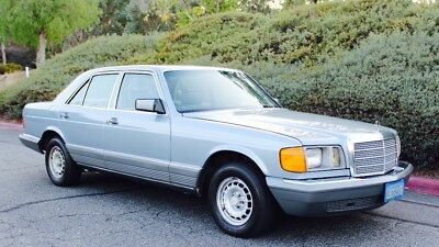 1981 Mercedes-Benz S-Class  Absolutely beautiful 1981 Mercedes Benz 300SD Turbo Deisel w126