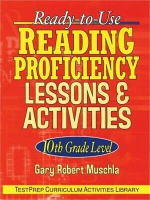 Ready-To-Use Reading Proficiency Lessons & Activities: 10th Grade Level (Paperba