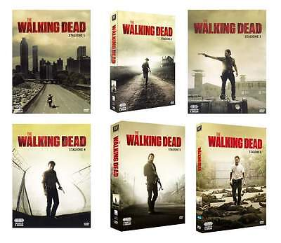 ***** The Walking Dead - Stagioni Da 1 A 6 - 25 Dvd - Nuovi, Italiano