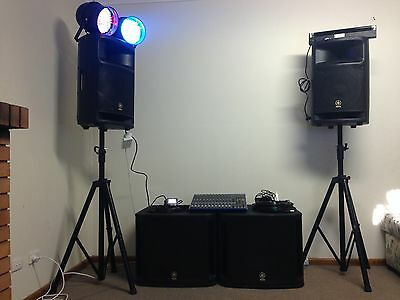 PA system and lighting
