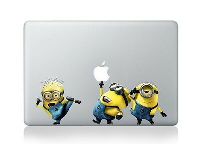 "Despicable Me Apple Macbook Air/Pro 12"" Removable Vinyl Sticker Skin Decal"