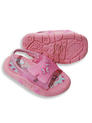 GIRLS Velcro Closure Sandals 12pcs [15054]