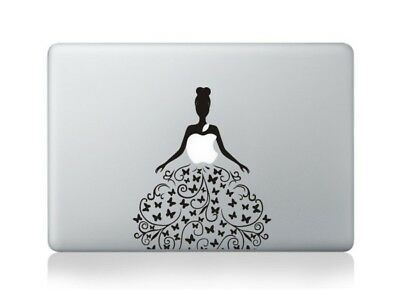 "Beautiful Lady Macbook Air/Pro 13/15"" Removable Vinyl Sticker Skin Decal Cover"