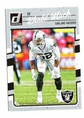 Khalil Mack 2016 Panini Donruss,Football Card !!