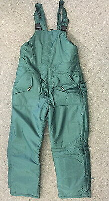 SNOW OVERALLS freezer overalls COLD WEATHER PROTECTION XXS BIB N BRACE new