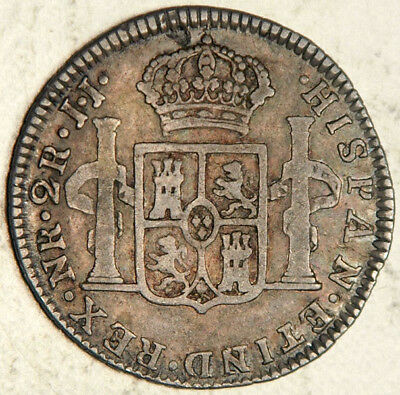 Colombia Spanish Colonial Silver 2 Reales 1792 (Rare!) No Auction Results Found!
