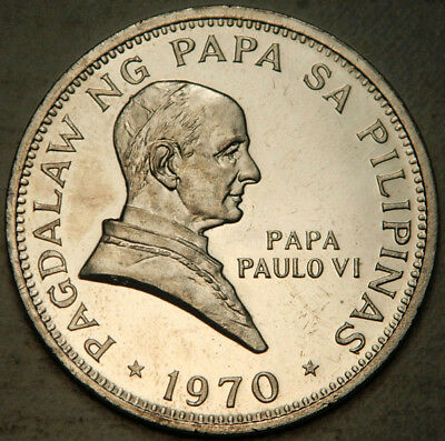 Philippines Proof-Like 1 Piso 1970