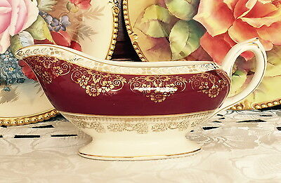 Vintage Crown Ducal Ware A.g.r & Co Ltd England Gravy Boat C1930's