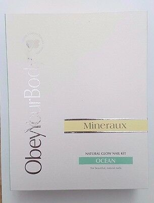 obey your body NATURAL GLOW NAIL KIT - Ocean