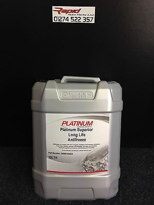 20 LTR PLATINUM  GM CONCENTRATED RED LONGLIFE (5yr) ANTIFREEZE - 20 LT 20L