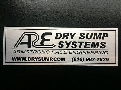 Dry Sump Systems Sticker / Decal - ARE